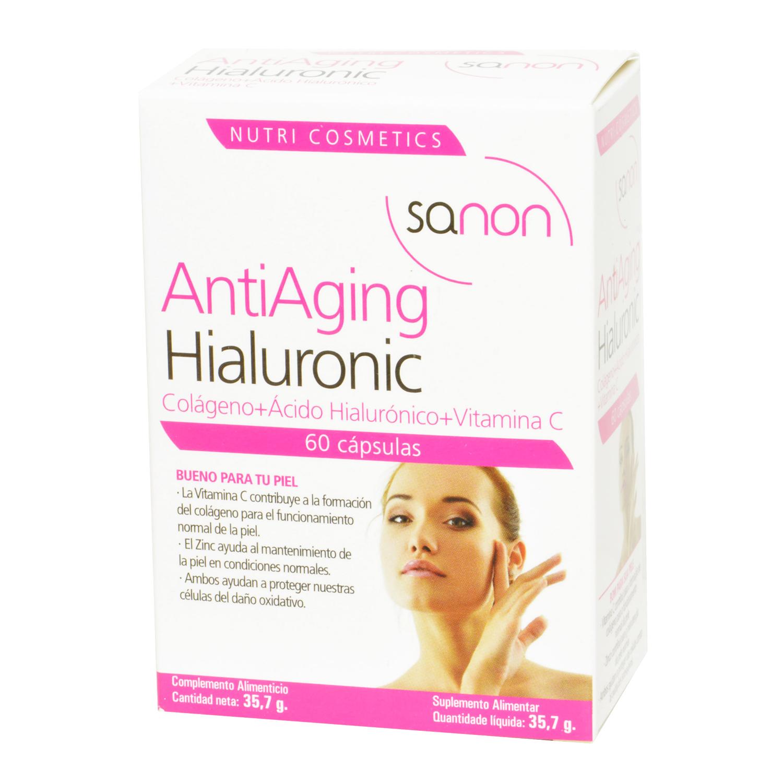Antiaging Hialuronic  cápsulas