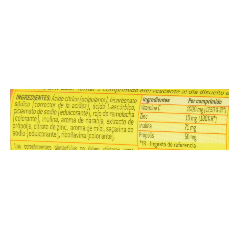 Complemento Vitamina C+ Zinc en comprimidos efervescentes Aquilea 14 comprimidos. - 2