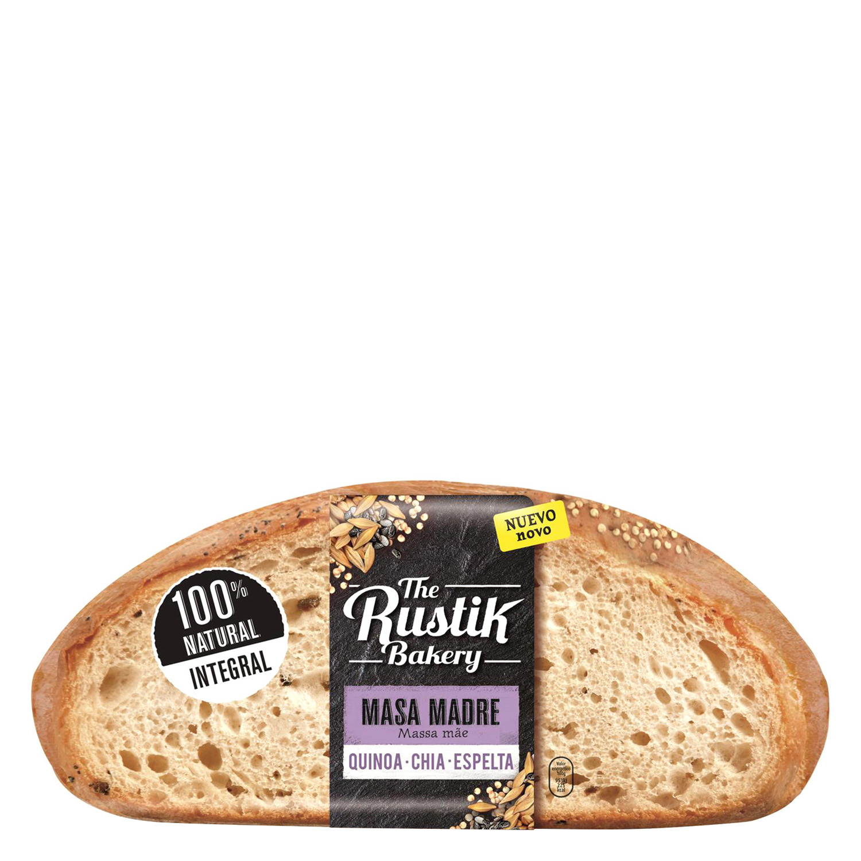Pan hogaza quinoa, chía y espelta The Rustik Bakery - Carrefour ...