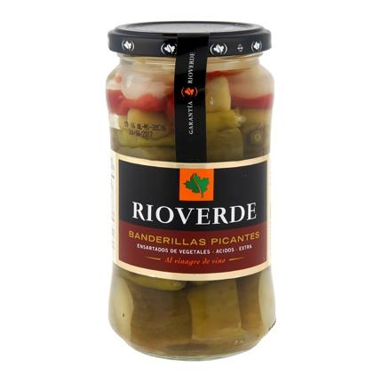 Banderillas Rioverde picantes 150 g.