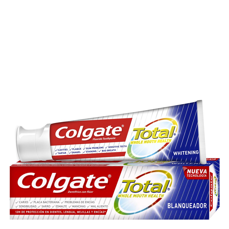 Dentífrico Total blanqueador Colgate 75 ml.