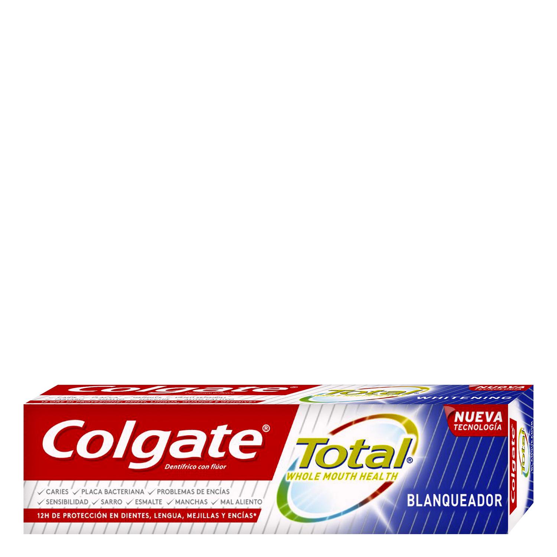Dentífrico Total blanqueador Colgate 75 ml. -