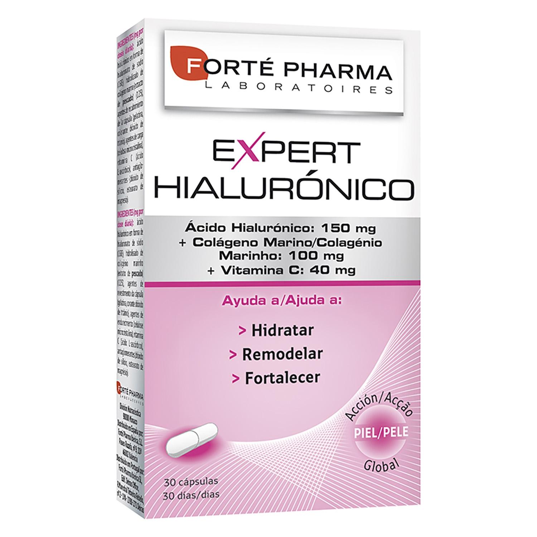 Expert Hialurónico Forté Pharma 30 cápsulas.