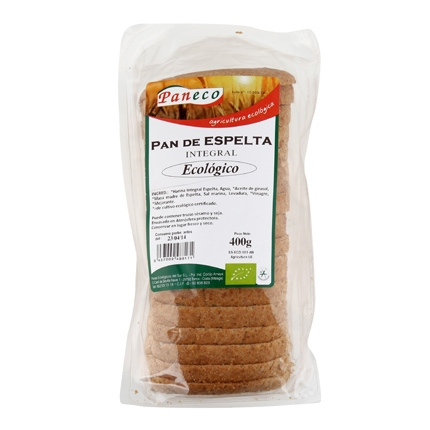 Pan de espelta integral ecológico
