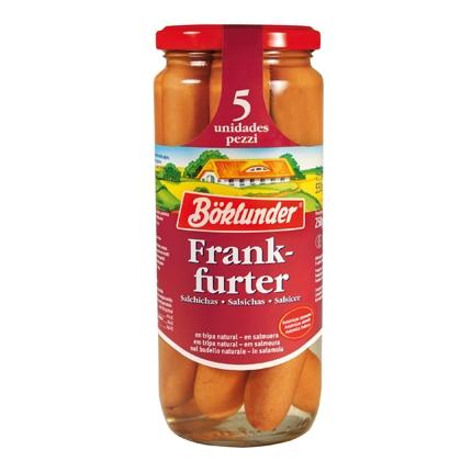 Salchichas cocidas Frankfurt