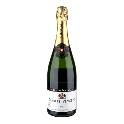 Champagne Charles Vicent brut 75 cl.