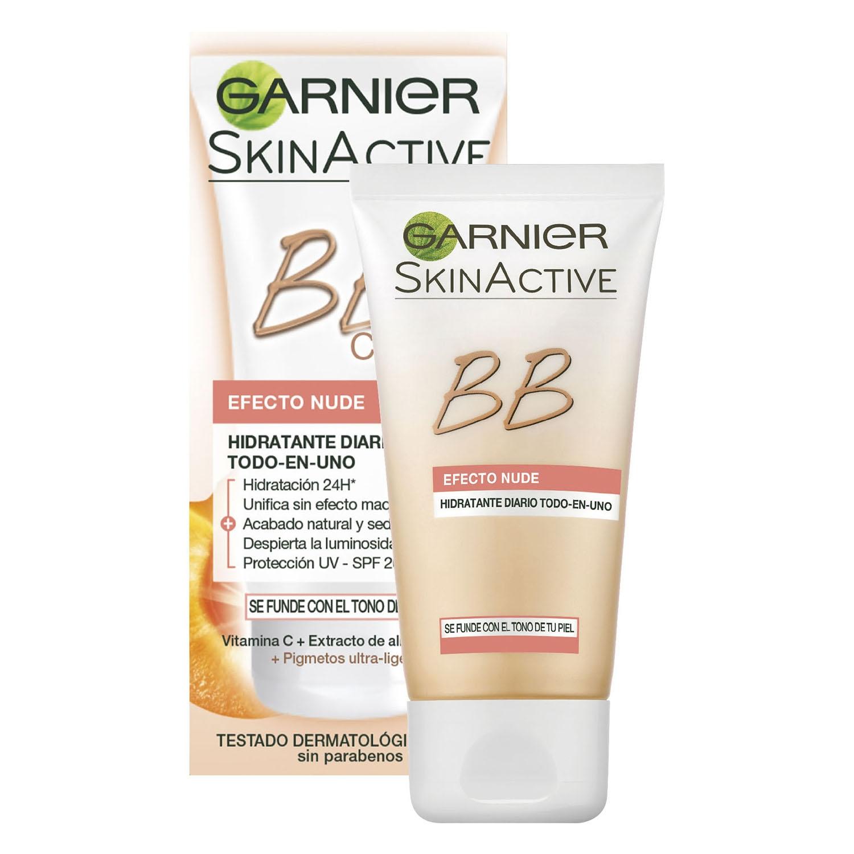BB cream efecto nude Garnier-Skin Active 50 ml.