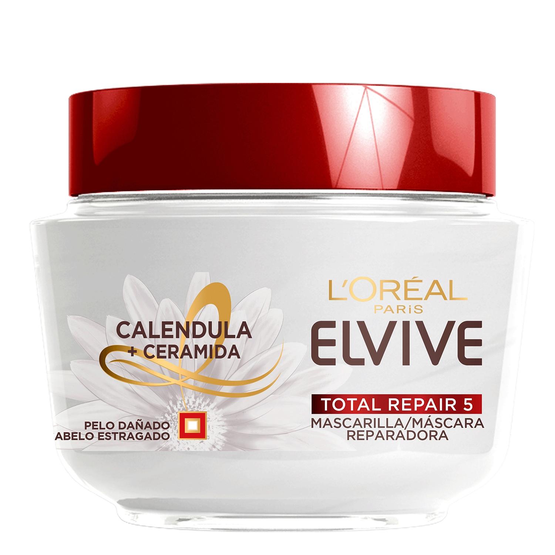 Mascarilla total repair 5 L'Oréal Elvive 300 ml.