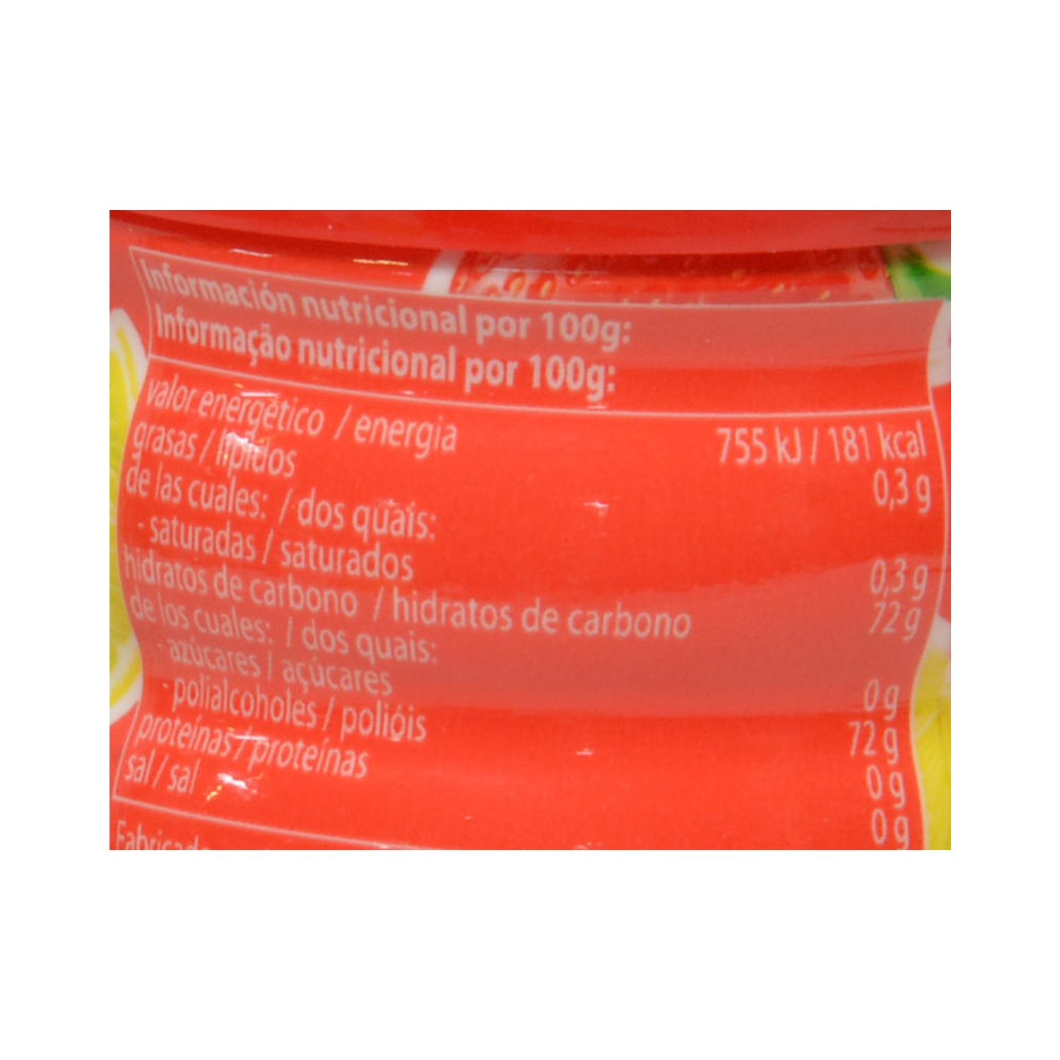 Chicles sabor frutas silvestres Full Fruit Mentos 60 g. - 2