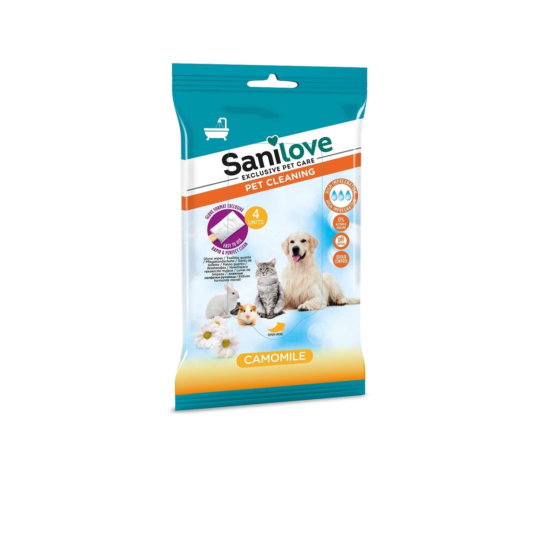 Toallitas guante higiénicas con Camomila