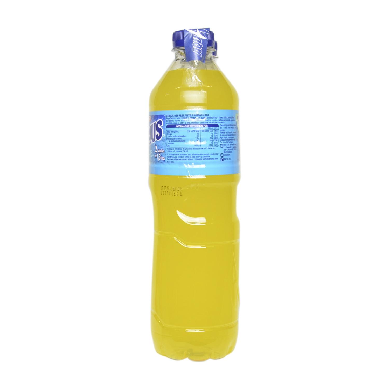 Bebida Isotónica Aquarius sabor naranja pack de 2 botellas de 1,5 l. -