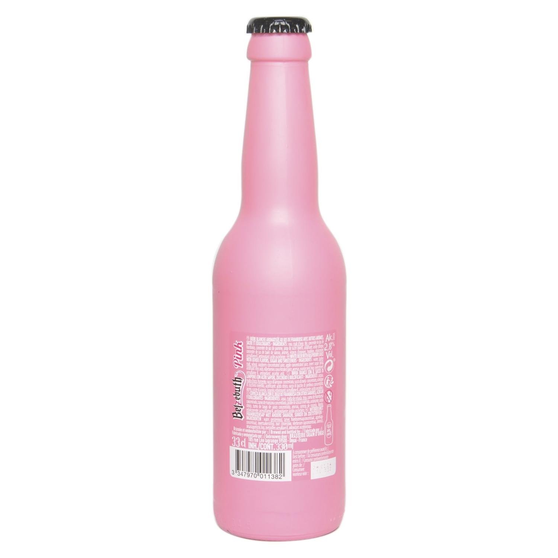 Cerveza Belzebuth Pink francesa botella 33 cl. -