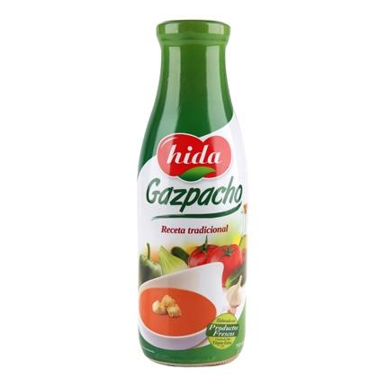 Gazpacho recete tradicional Hida 760 ml.