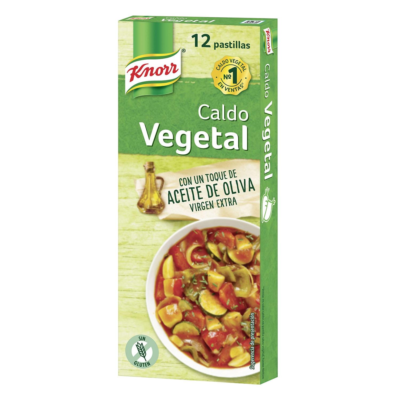Caldo vegetal en aceite de oliva virgen extra