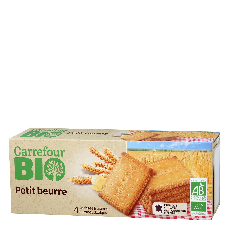 Galletas de mantequilla ecológicas Carrefour Bio 167 g.