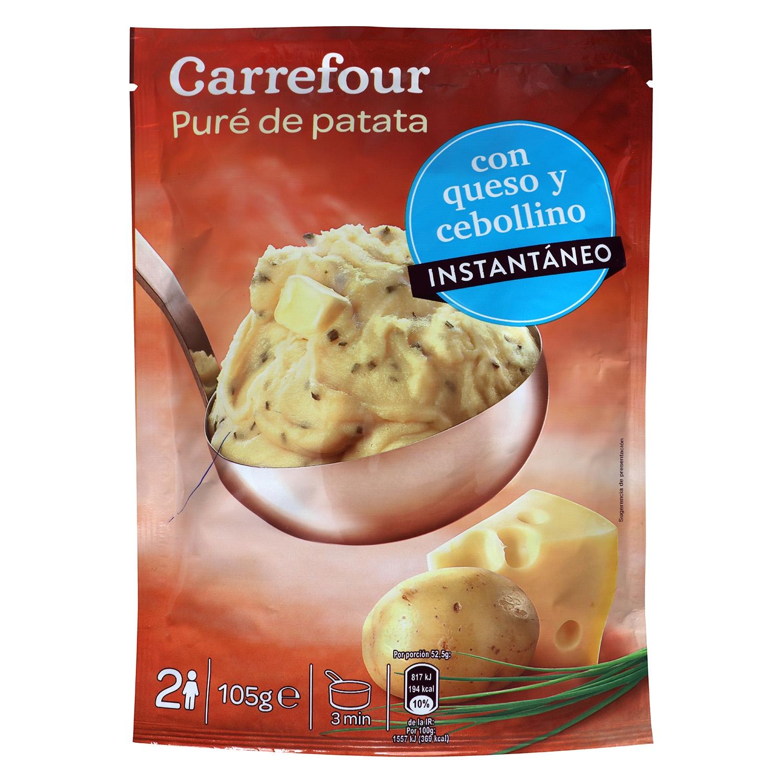 Puré Queso Cebollino Carrefour