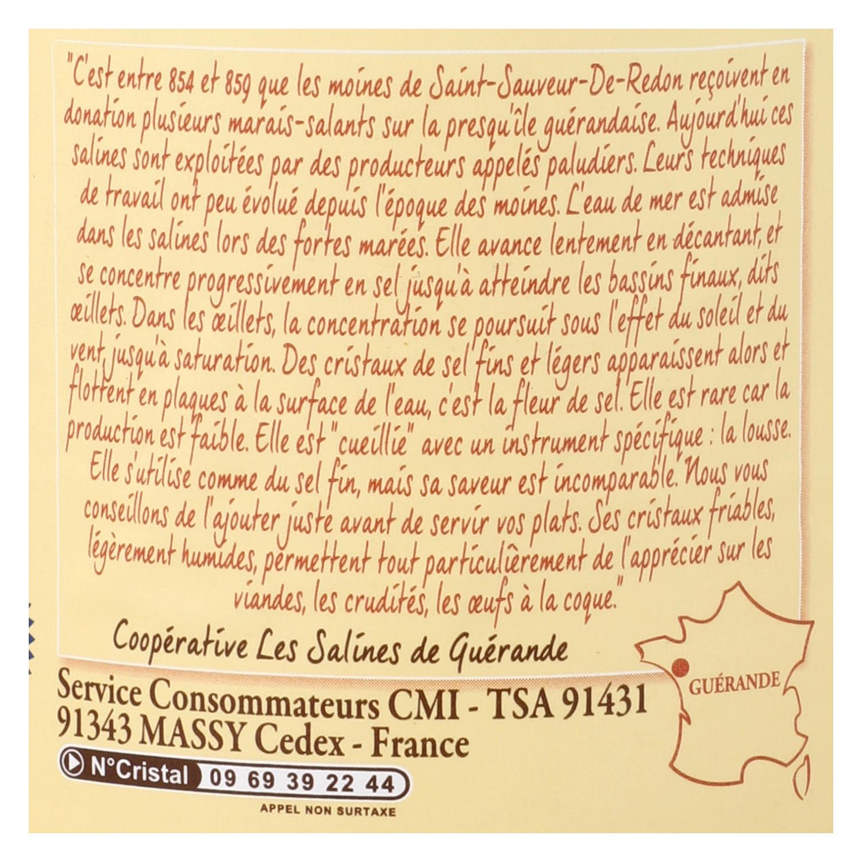 Flor de sal Reflets de France 125 g. -
