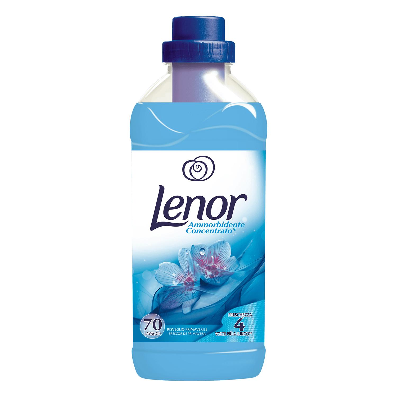 Suavizante concentrado frescor de primavera Lenor 70 lavados.