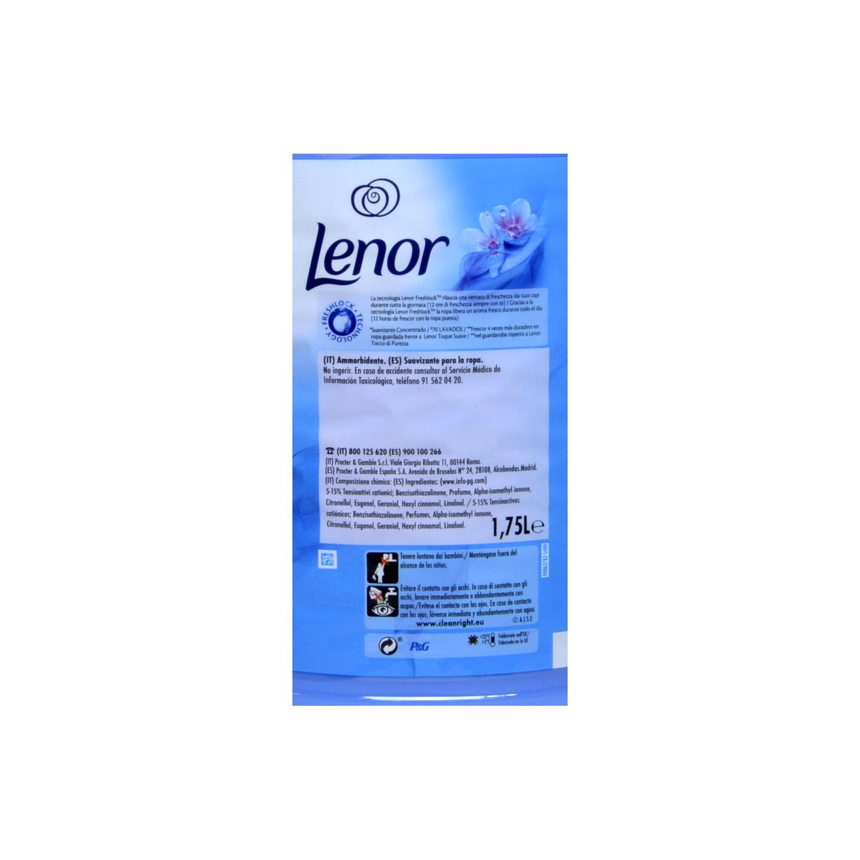 Suavizante concentrado frescor de primavera Lenor 70 lavados. -