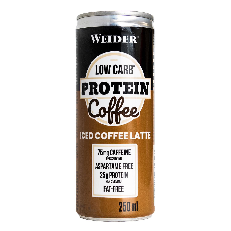 Batido de proteínas Iced Coffee Latte Weider 250 ml.