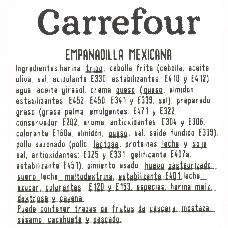 Empanadilla mexicana Puchol 130 g. - 3