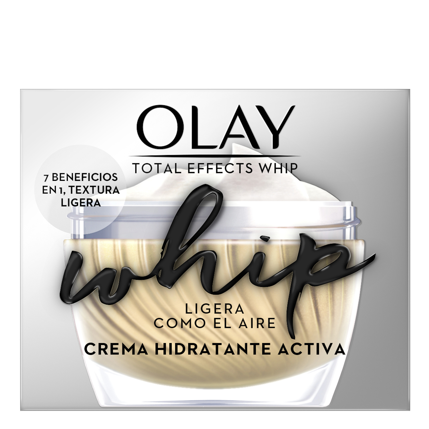 Crema Total Effects Whip SPF30 Olay 50 ml. -
