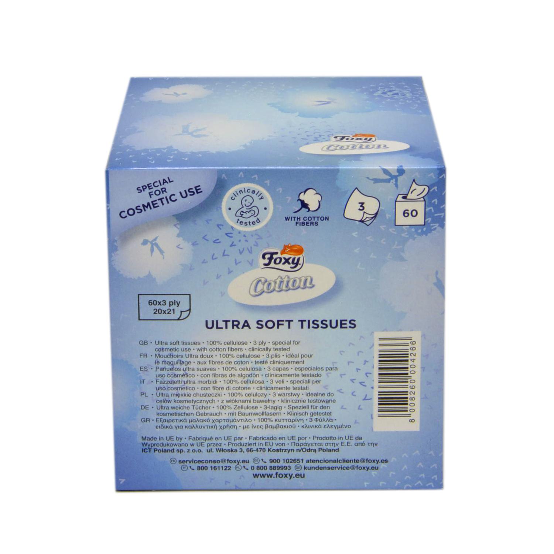 Tissues Cotton 3 capas -