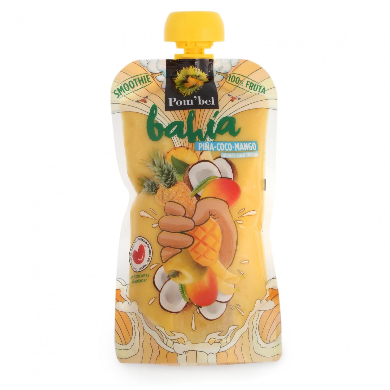 Smoothie de piña,coco y mango Pom'bel bolsita 210 ml. - 2