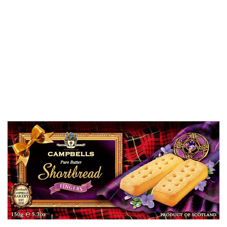 Galletas Shortbread fingers de mantequilla