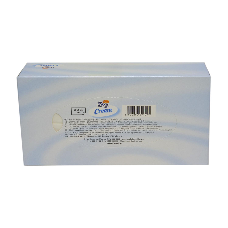 Tissues Cream 4 capas -