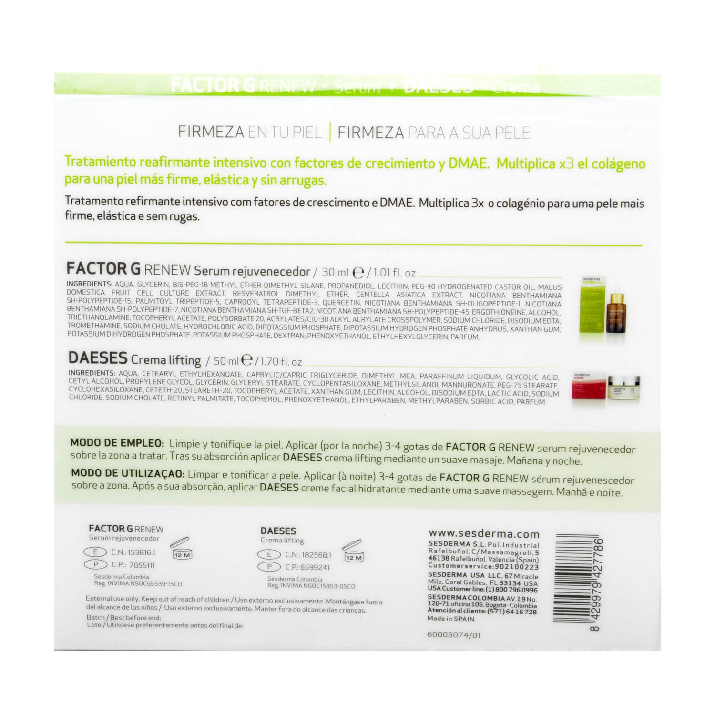 Pack Factor G Serum + Daeses crema Sesderma 1 ud. -