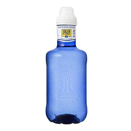 Agua mineral Solán de Cabras natural 33 cl.