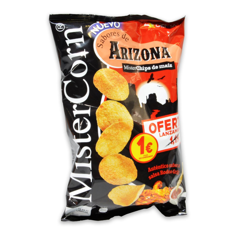 Maíz sabor Arizona Grefusa 90 g.