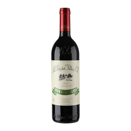 Vino D.O. Rioja tinto gran reserva
