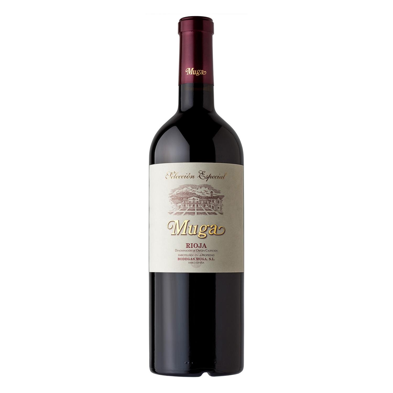 Vino D.O. Rioja tinto reserva Muga 75 cl.