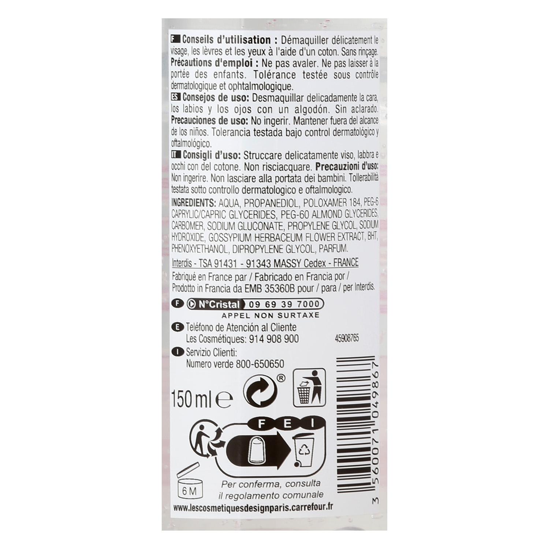 Gel desmaquillante con agua micelar - 2