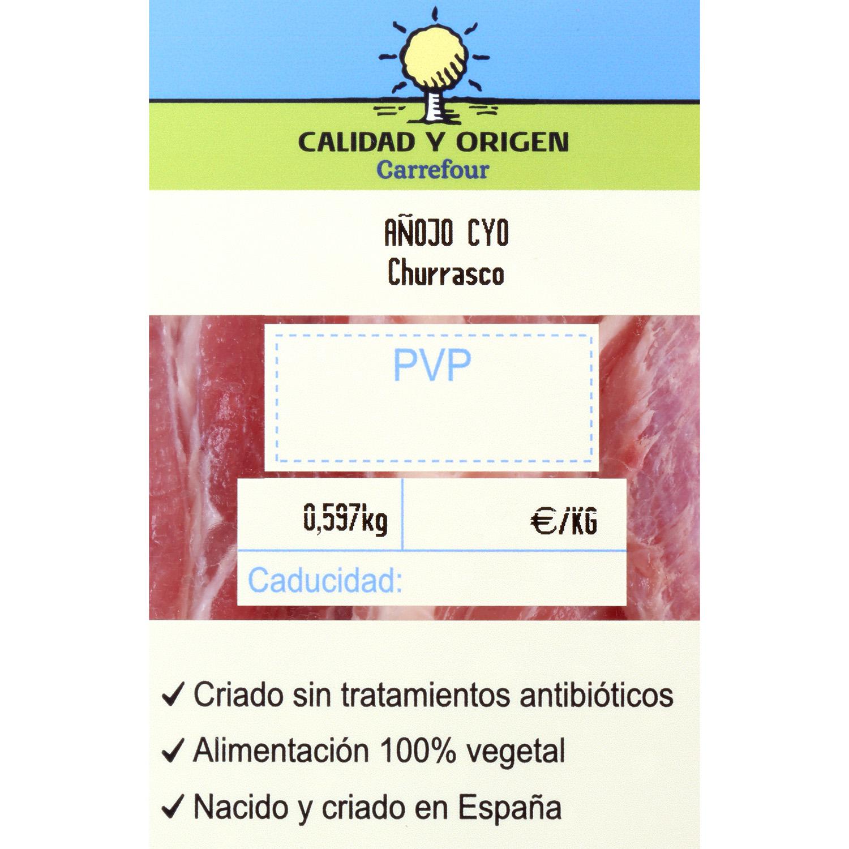 Churrasco de Añojo Carrefour Calidad y Origen 300 g aprox - 2