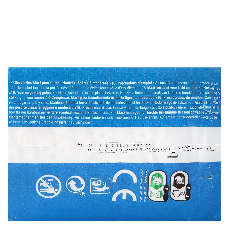 Compresas incontinencia maxi Carrefour 16 ud. - 3