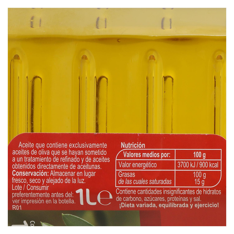 Aceite de oliva suave 0,4º Carrefour 1 l. -