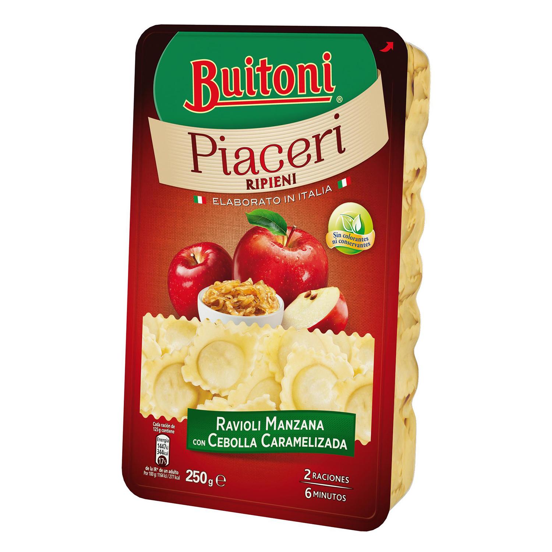 Ravioli de manzana y cebolla caramelizada Buitoni 250 g.