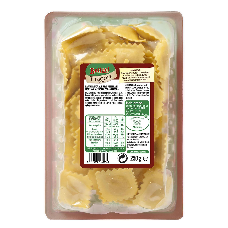 Ravioli de manzana y cebolla caramelizada Buitoni 250 g. -