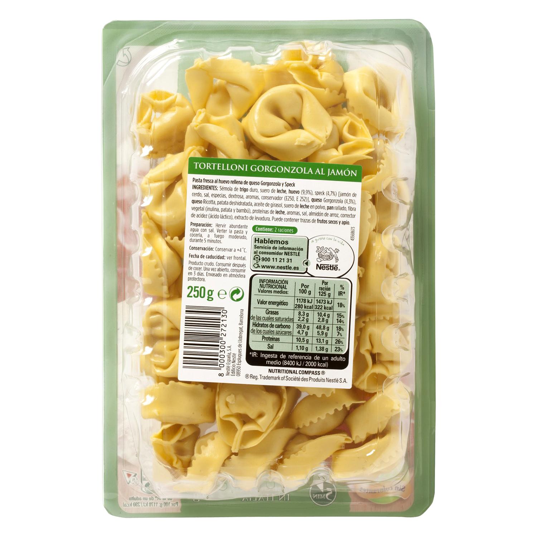 Ravioli de gorgonzola y jamón Buitoni 250 g. - 2