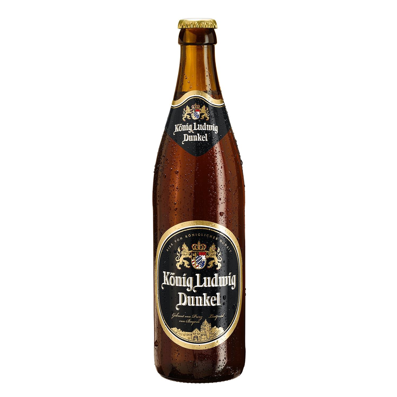 Cerveza König Ludwig Dunkel alemana negra botella 50 cl.