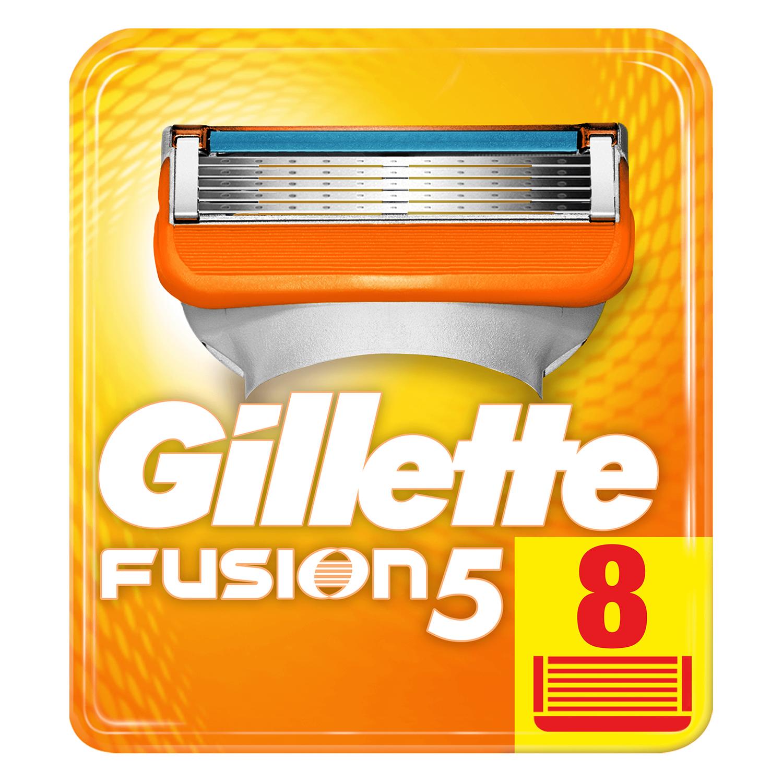 Cargador para afeitar Fusion 5 Gilette 8 ud.