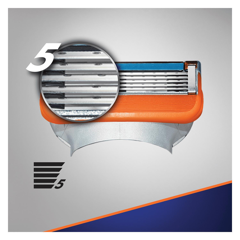 Cargador para afeitar Fusion 5 Gilette 8 ud. - 2