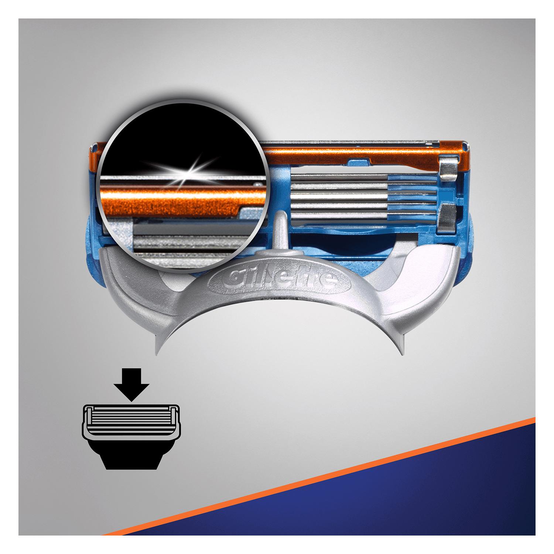 Cargador para afeitar Fusion 5 Gilette 8 ud. - 5