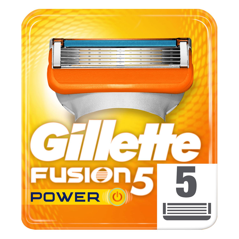 Cargador para afeitar Fusion 5 Power Gilette 5 ud.