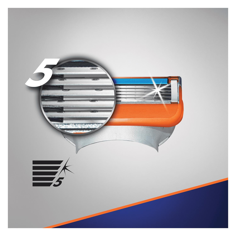 Cargador para afeitar Fusion 5 Power Gilette 5 ud. - 2