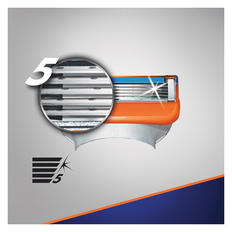 Cargador para afeitar xl Fusion 5 Power Gilette 8 ud. - 2