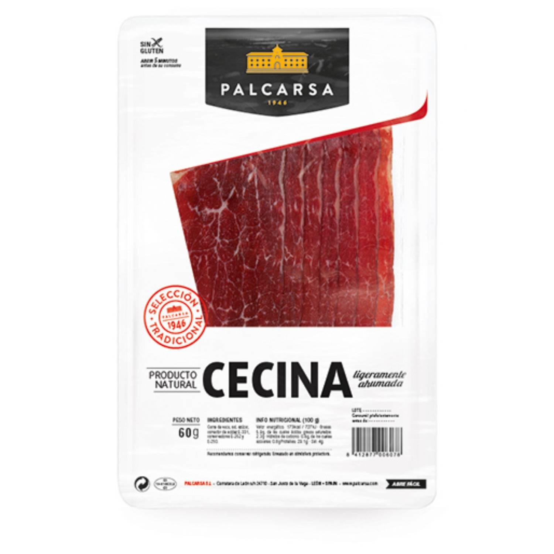 Cecina curada loncheada Palcarsa 55 g